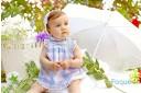 Vestido bebe y niña Foque Lirios Verano