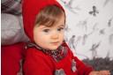 Vestido Punto & Cuadros con Lazos Rojo
