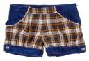 short  tartan azul Kauli
