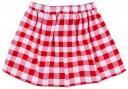 Conjunto Niña Camiseta Cangrejo & Falda Vichy Rojo