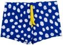 Dadati Conjunto Baño Bebé Camiseta Algodón Blanca & Boxer Lycra Lunares Azul