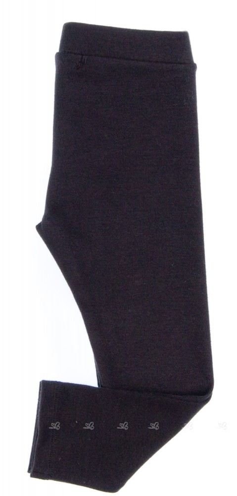 PLAY UP  Leggings Niña Algodón Orgánico Negro