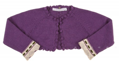 Violet Knitted Cardigan