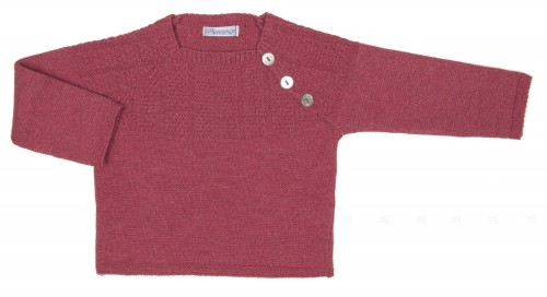 Baby Dusky Pink Knitted Sweater