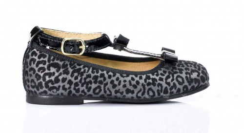 Leopard Print Mary Janes