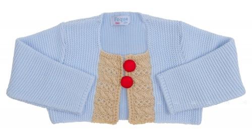 Foque verano 2015 chaqueta celeste colección artesanal