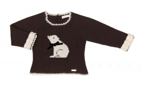 Chocolate Polar Bear Sweater