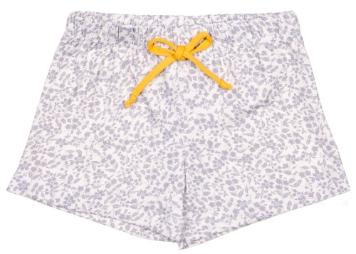 Boys Grey Floral Print Polyamide Swim Shorts