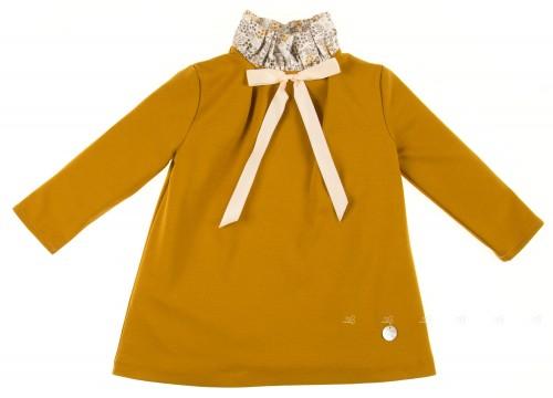 Mustard Jersey dress