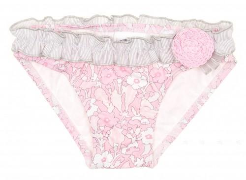 Pink & Grey Liberty Bikini Bottoms