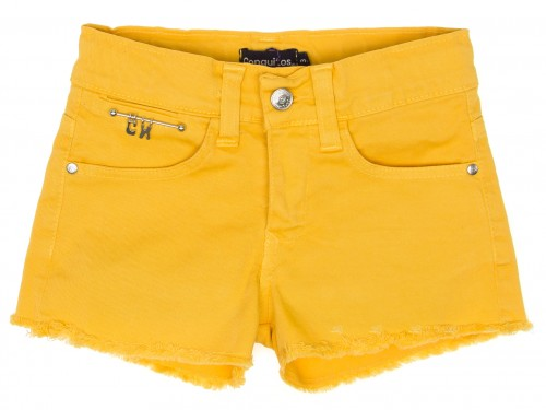 Girls Mustard Shorts