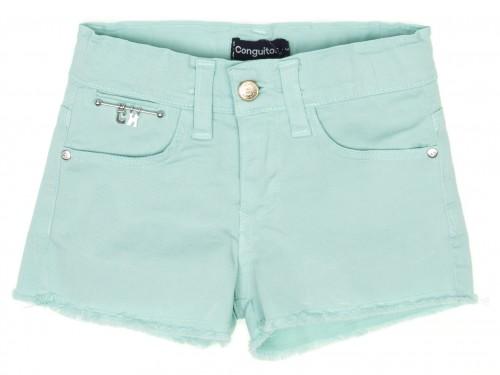 Girls Light Turquoise Shorts