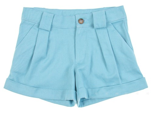 Girls Blue Serge Shorts