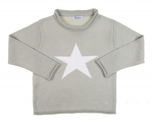 Jersey Estrella Ancar Gris
