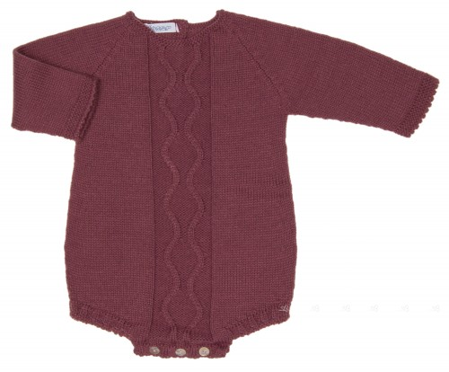 Baby Plum Knitted Shortie