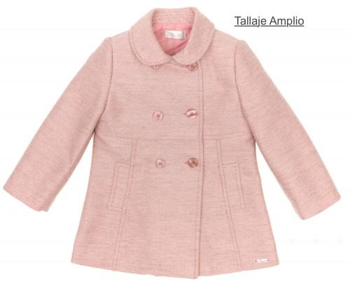 Girls Dusky Pink Traditional Coat