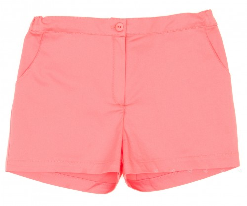 "Girls Coral Pink ""Nadia"" Shorts"