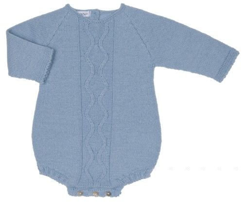 Baby Blue Knitted Shortie