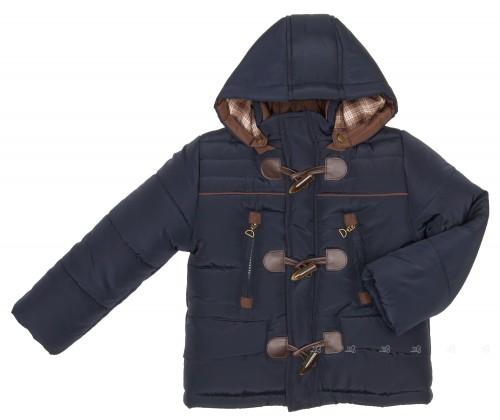 Boys Blue Padded Coat