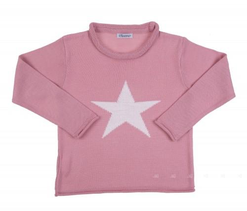 Jersey Estrella Ancar rosa