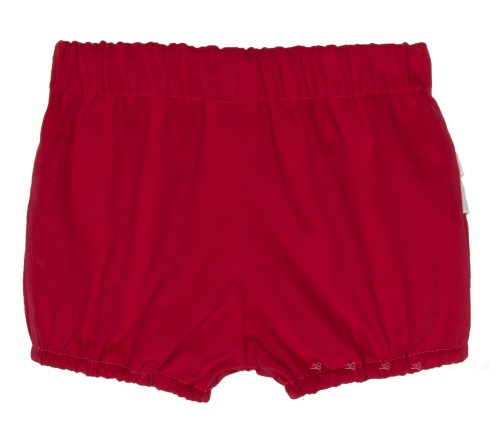 Red & White Frilly Shorts