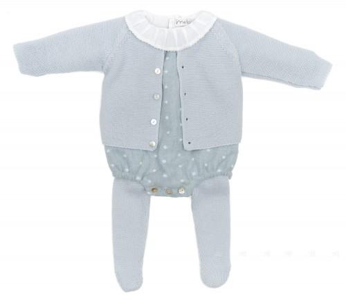 Baby Pale Blue 3 Piece Set