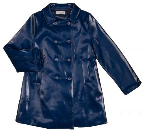 Blue Padded Raincoat