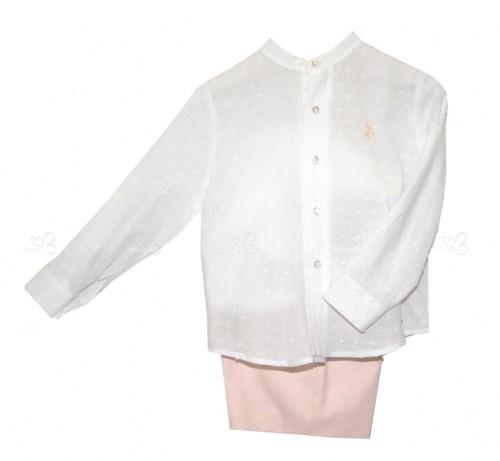 Conjunto niño blusa & bermuda Peonia