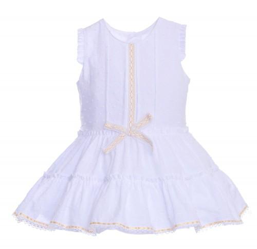 Vestido Conchitas Blanco