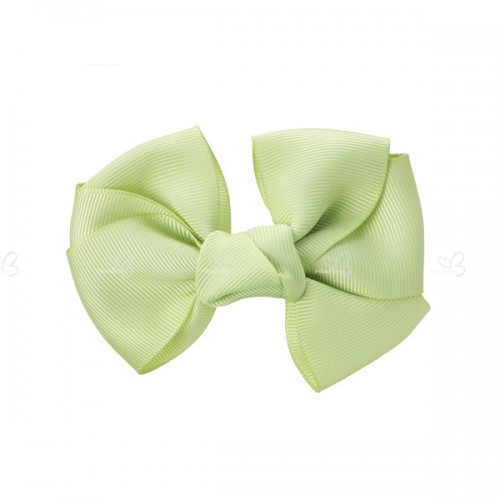 Grosgrain bow hair clip (5,5cm)