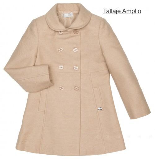 Girls Beige Traditional Coat