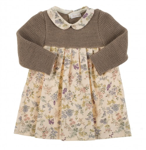 Baby girls flower dress