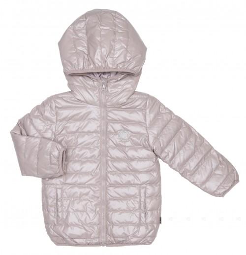 Girls Gray Padded Jacket