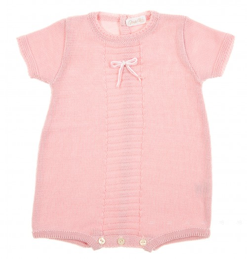 Pale Pink Knitted Shortie