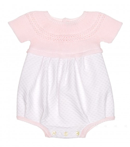Pink & White Cotton Shortie