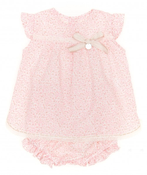 Pale Pink & Liberty 2 Piece Baby Set