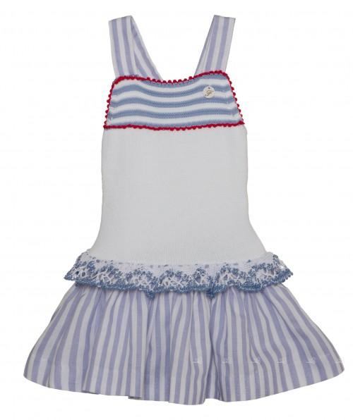 Compra Foque online en missbaby, vestido punto blanco tirantes verano