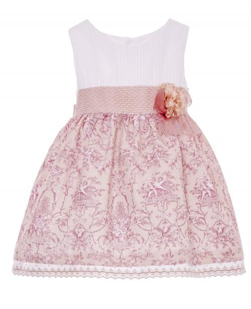 Vestido colección Porcelana Rosa Empolvado