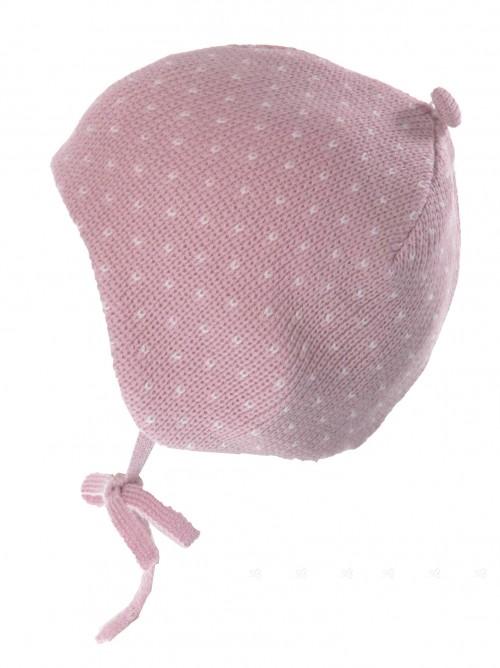 Dusky Pink Merino Hat
