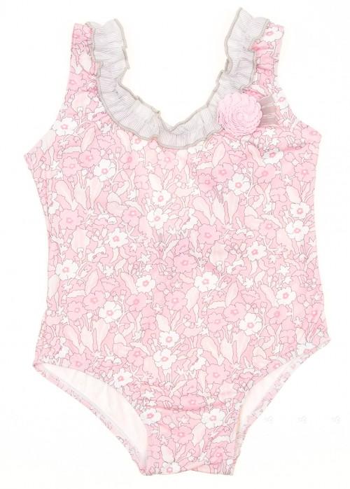 Pink & Grey Liberty Swimsuit