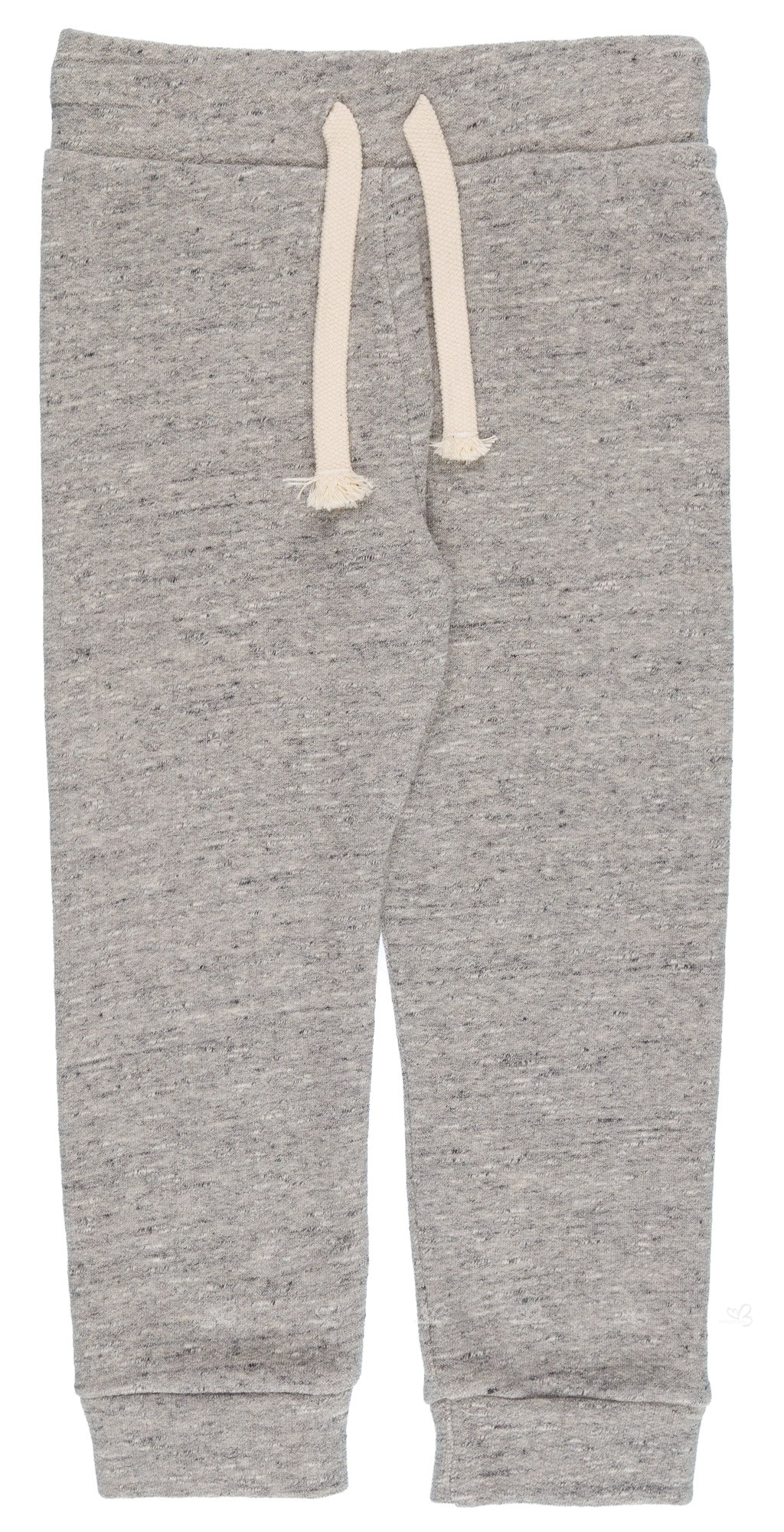 11555ad3b Home; Girls Grey Organic Cotton Joggers. PLAY UP Pantalón Niña Algodón  Orgánico Gris Melange ...