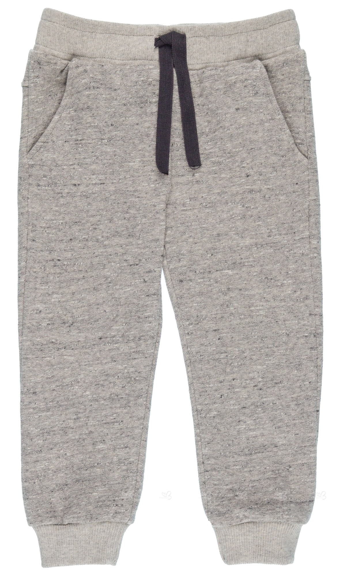 3d70bb1a9 Home; Boys Grey Organic Cotton Joggers. PLAY UP Pantalón Niño Algodón  Orgánico Gris Melange ...