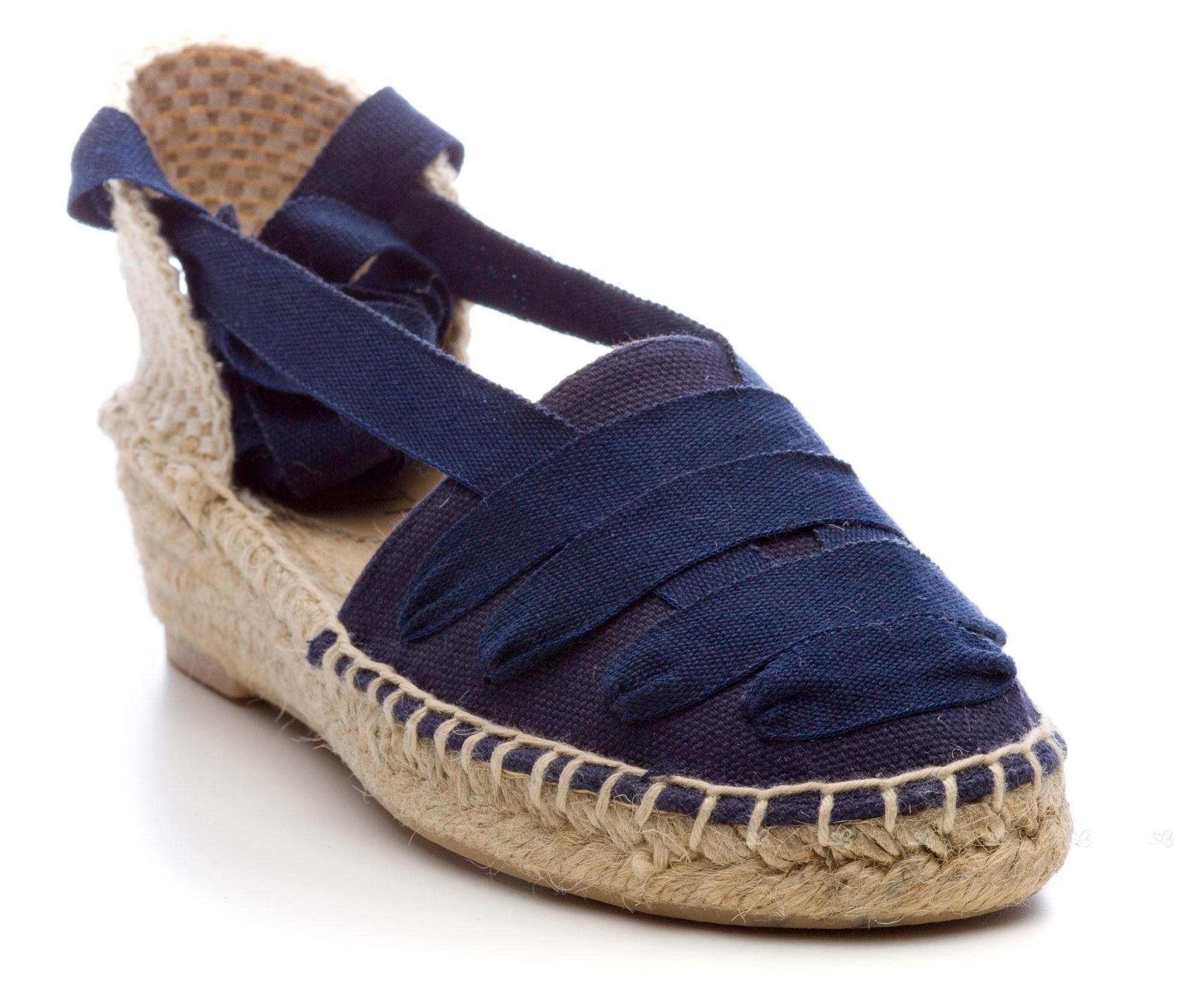 CONFETTI Girls Navy Blue Espadrille Sandals | Missbaby