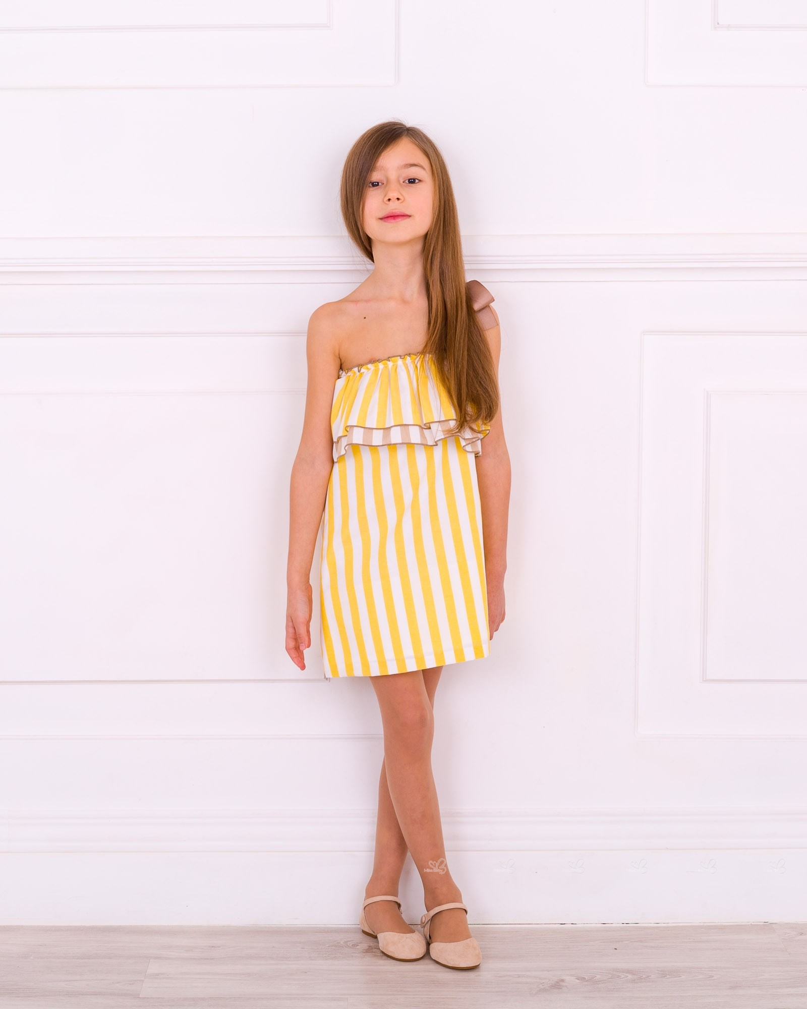 63c441a2e7b Outfit Vestido Yellow | Missbaby