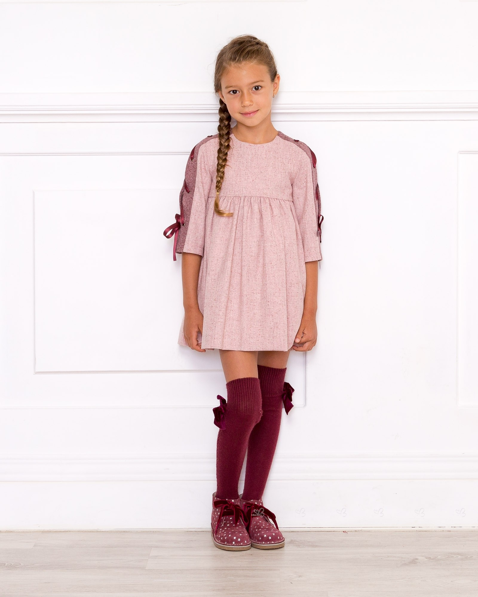 S Pink Burgundy Dress Outfit Missbaby