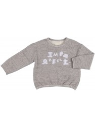 Grey Organic Cotton Imperfect Sweatshirt