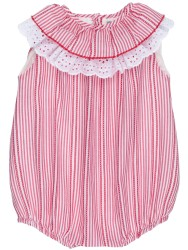 Baby Red & White Striped Shortie
