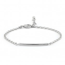 Girls Silver Plated Bracelet