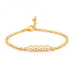 Girls Gold Plated Laia Bracelet