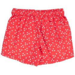 Boys Red Star Print Swim Shorts